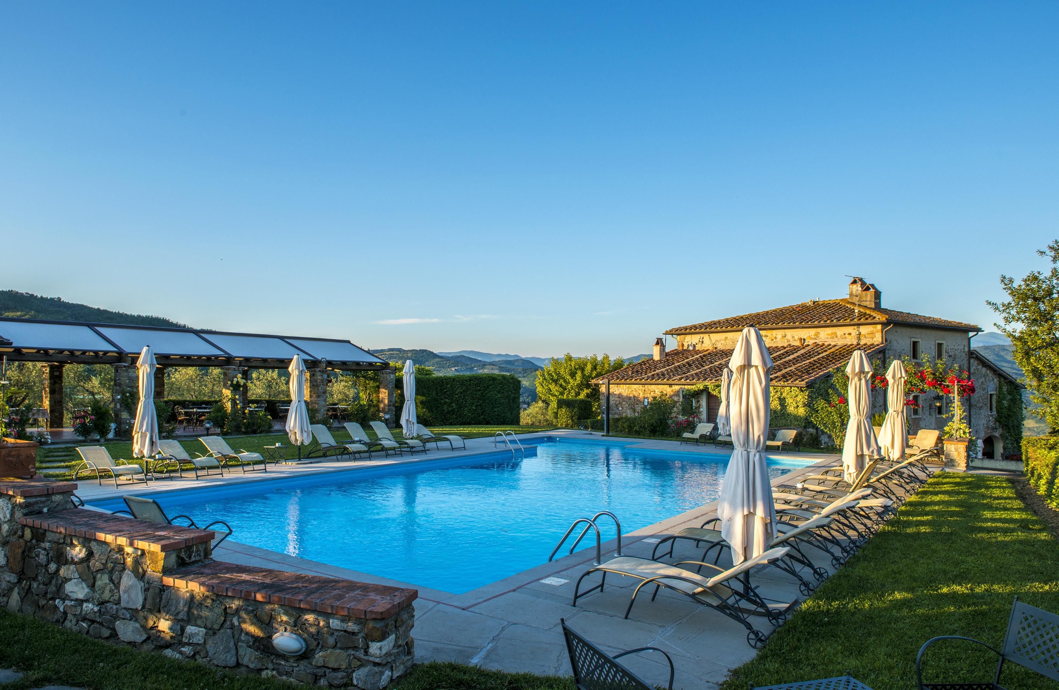 Lantgård Toscana