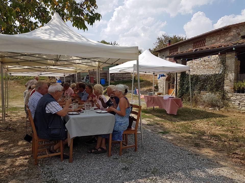 Getostfarm i Toscana